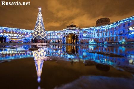 Россия - Новогодний Санкт - Петербург!