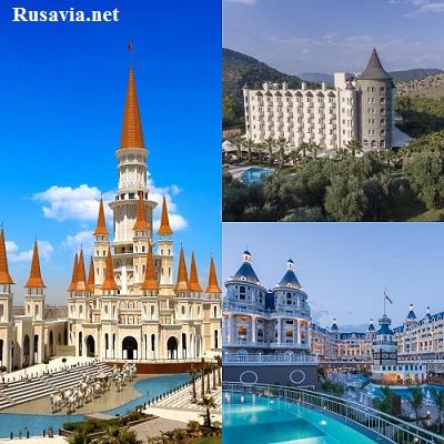 Турция - Турецкие отели - дворцы!!!