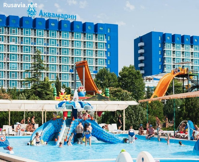 Россия - Aquamarine Resort & SPA 5* (Крым)